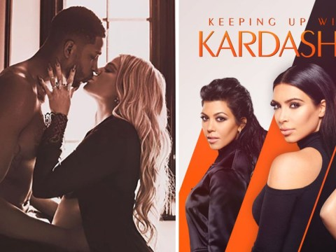 How will Keeping Up With The Kardashians address Khloe Kardashian and Tristan Thompson?