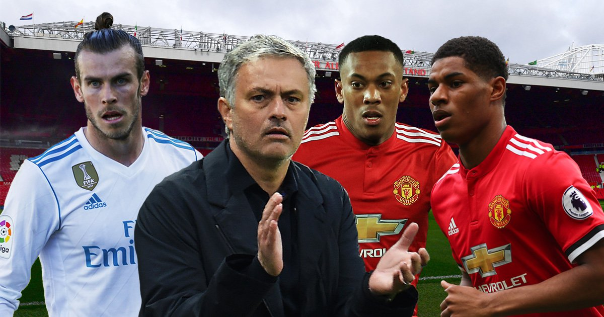 Jose Mourinho must invest in Anthony Martial and Marcus Rashford instead of injury-prone Gareth Bale