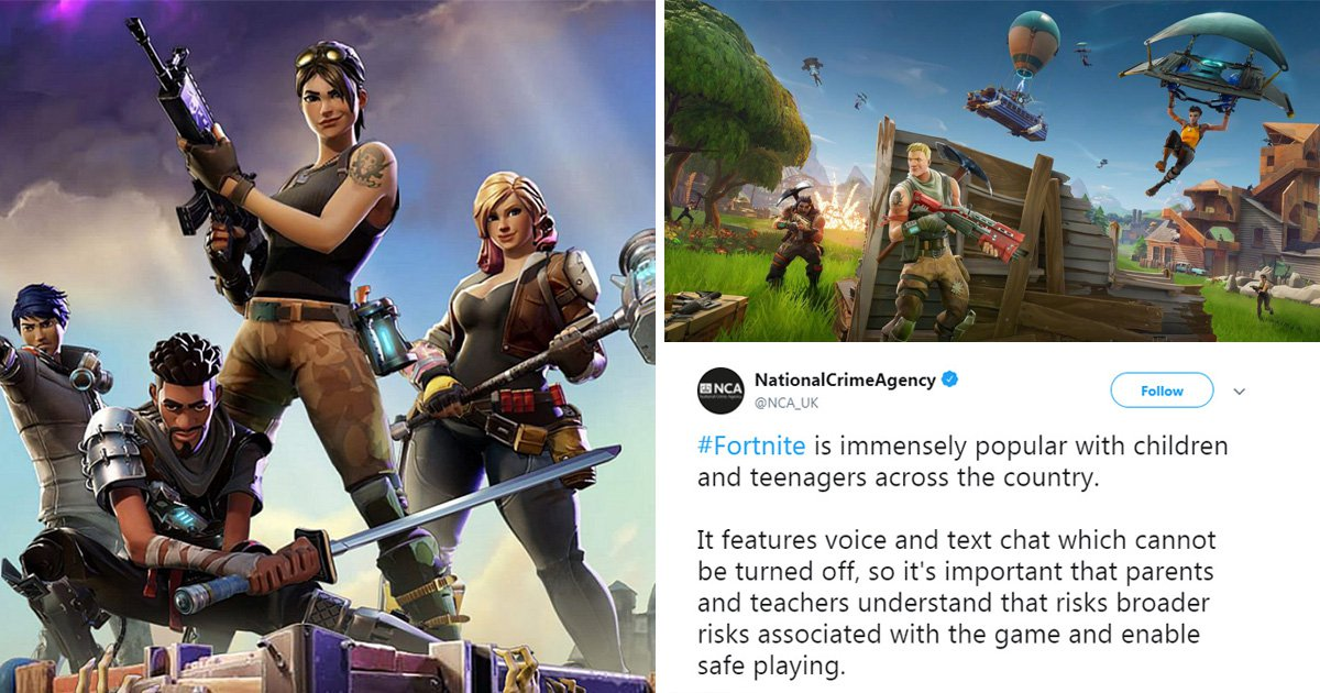 Children on Fortnite targeted by paedophiles, parents warned