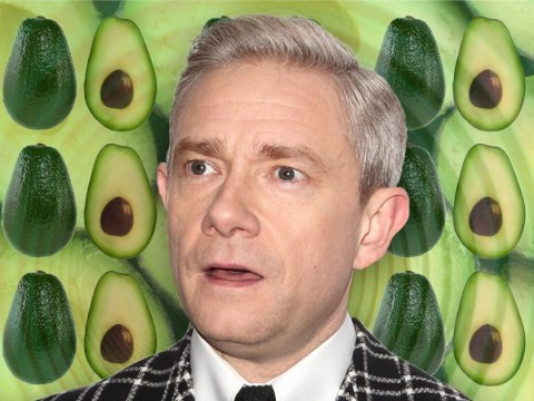 Martin Freeman admits he has a fear of avocados