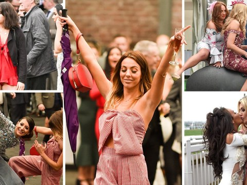 Aintree lasses turn up the glamour for Grand National Ladies Day