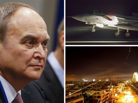 Russian ambassador warns there 'will be consequences' after Syria strikes