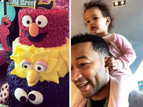 Chrissy Teigen and John Legend spoil Luna with Sesame Street bash for 2nd birthday – and Kim Kardashian was a guest