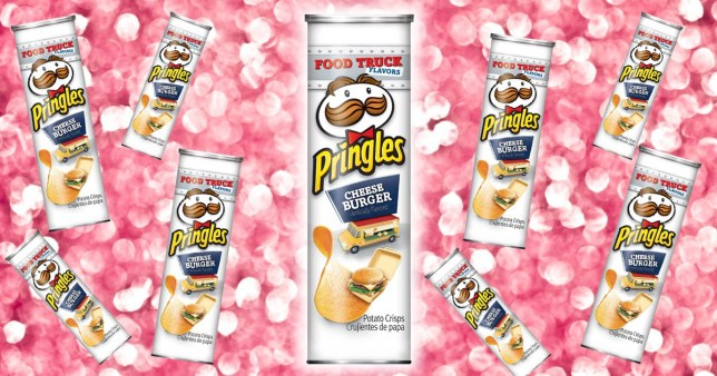Cheeseburger Flavour Pringles Exist And They Sound Oddly Delicious