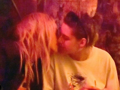 Kristen Stewart shares kiss with girlfriend Stella Maxwell amid rumours she's reconnected with ex beau Robert Pattinson