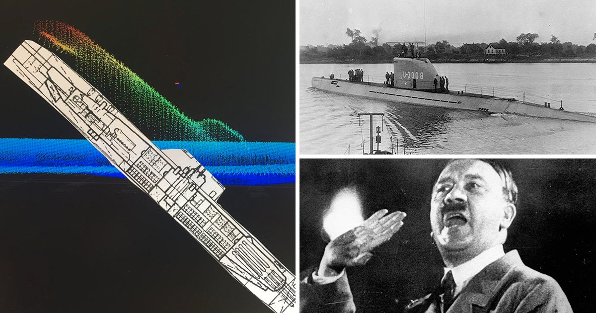 Nazi submarine that 'smuggled Hitler to South America' discovered near Denmark