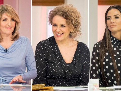 Kaye Adams and Nadia Sawalha admit they have 'little in common' with outspoken co-star Katie Price