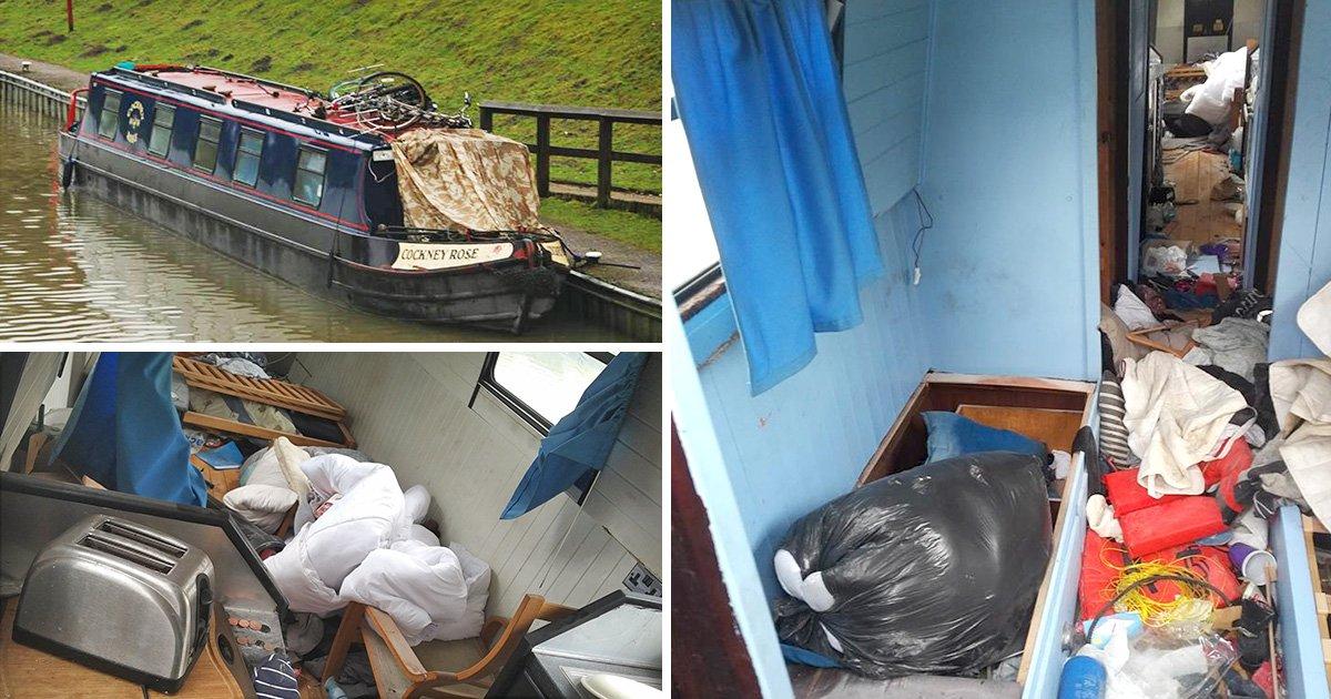 Owner of houseboat taken on joyride reveals damage inside his pride and joy