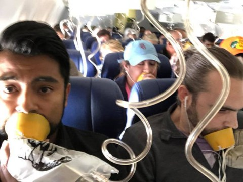 Almost everyone in Southwest plane incident wore their oxygen mask incorrectly, flight attendant says
