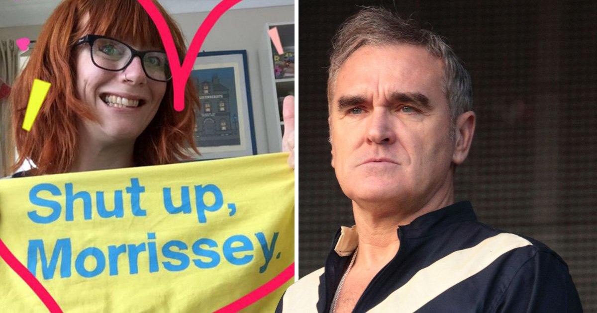 'Shut Up Morrissey' merch is selling out thanks to his latest interview