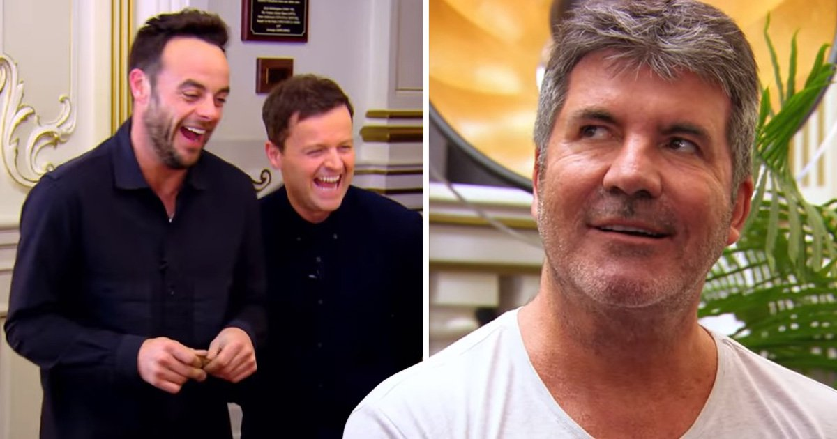 Declan Donnelly 'most likely to have his nude pictures leaked' says Simon Cowell