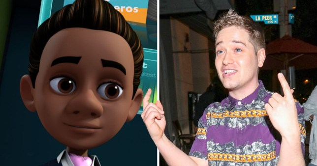 White actor playing black character on Spy Kids