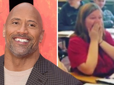 Dwayne 'The Rock' Johnson gives epic surprise to a fan who asked him to prom