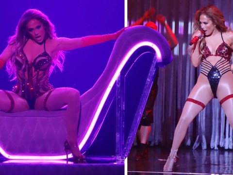 Jennifer Lopez puts on raunchy show for Vegas residency return and we're obsessed