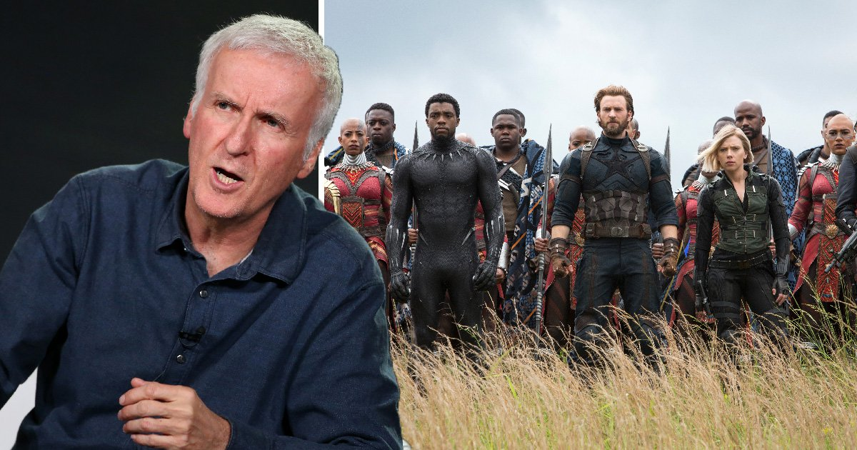 James Cameron is bored of Marvel's superhero movies and hopes fans get 'Avengers fatigue'