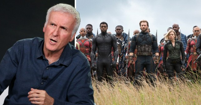 Avengers Infinity War: James Cameron is fed up of Marvel
