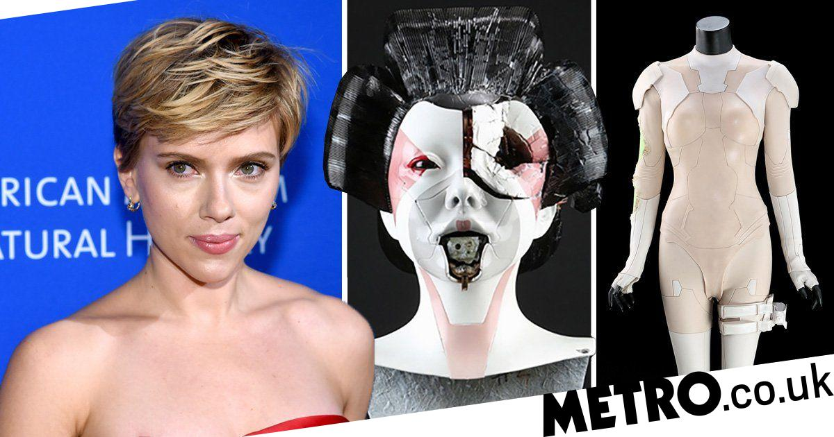 Scarlett Johansson S Ghost In The Shell Costume Up For Grabs Metro News