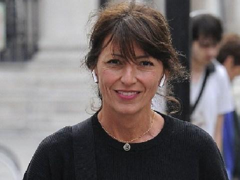 Davina McCall looks in high spirits as she soaks up sun amid '£2 million quickie divorce' rumours