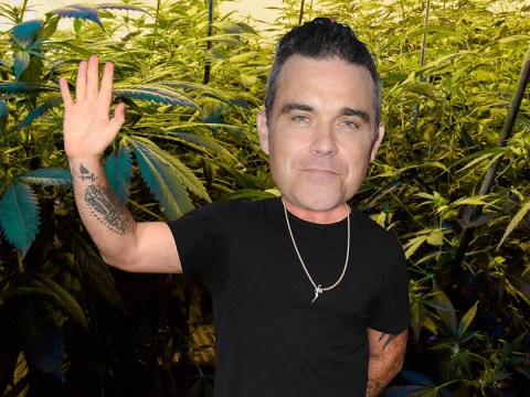 Ayda Field once gifted Robbie Williams a 'whole weed farm for their anniversary'