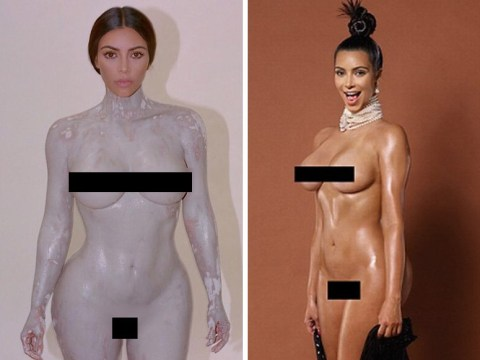 Kim Kardashian's naked ambition: After that full-frontal perfume ad, KKW's most controversial nude pictures
