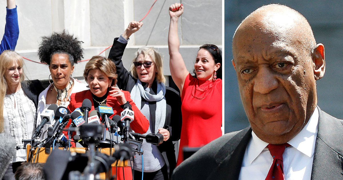 Bill Cosby, 80, found guilty of sexual assault as Gloria Allred declares 'justice has been done'