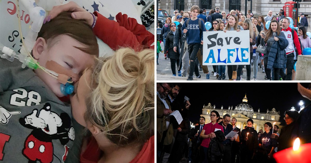 Alfie Evans continues to fight for life as parents ask supporters to leave Alder Hey hospital