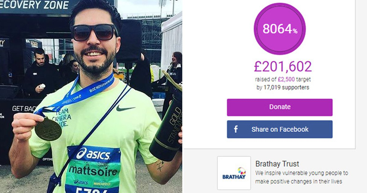 Fundraiser for Masterchef contestant who died in London Marathon hits £200,000