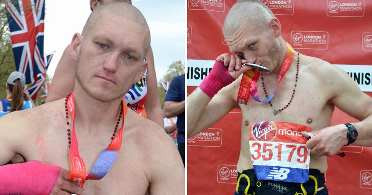 London Marathon spectator stole runner's number, ran final mile and claimed medal