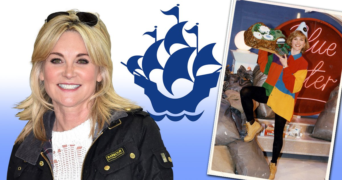 Anthea Turner making her Blue Peter comeback to celebrate show's 60th anniversary