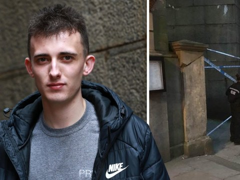 Waiter felt 'horrible' when he discovered 'sleeping man' was actually dead