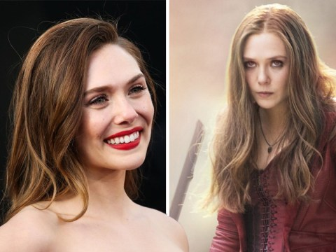 Elizabeth Olsen isn't happy her boobs are on show in Avengers costume