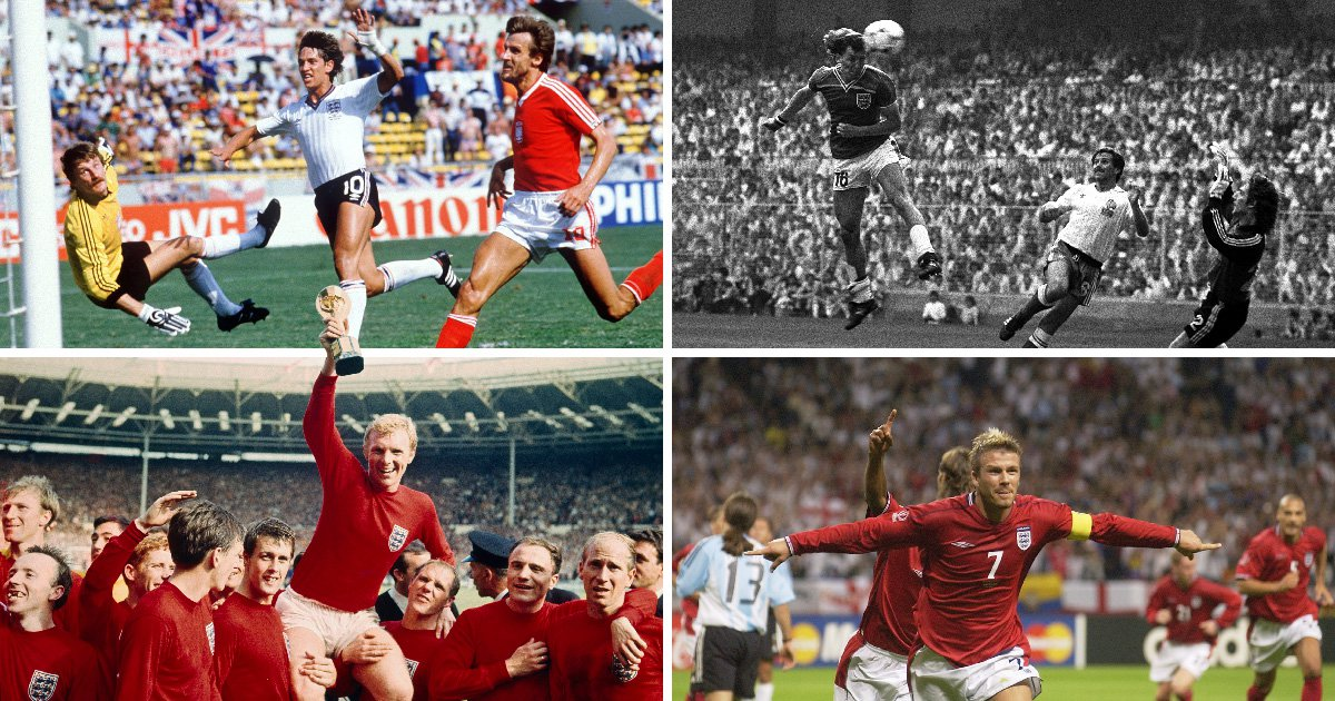 From 1966 to Lineker's hat-trick: England's best-ever World Cup performances
