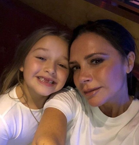 BGUK_1171223 - Various, UNITED KINGDOM - Celebrity social media photos! Pictured: Victoria Beckham, Harper Beckham BACKGRID UK 8 MARCH 2018 *BACKGRID DOES NOT CLAIM ANY COPYRIGHT OR LICENSE IN THE ATTACHED MATERIAL. ANY DOWNLOADING FEES CHARGED BY BACKGRID ARE FOR BACKGRID'S SERVICES ONLY, AND DO NOT, NOR ARE THEY INTENDED TO, CONVEY TO THE USER ANY COPYRIGHT OR LICENSE IN THE MATERIAL. BY PUBLISHING THIS MATERIAL , THE USER EXPRESSLY AGREES TO INDEMNIFY AND TO HOLD BACKGRID HARMLESS FROM ANY CLAIMS, DEMANDS, OR CAUSES OF ACTION ARISING OUT OF OR CONNECTED IN ANY WAY WITH USER'S PUBLICATION OF THE MATERIAL* UK: +44 208 344 2007 / uksales@backgrid.com USA: +1 310 798 9111 / usasales@backgrid.com *UK Clients - Pictures Containing Children Please Pixelate Face Prior To Publication*