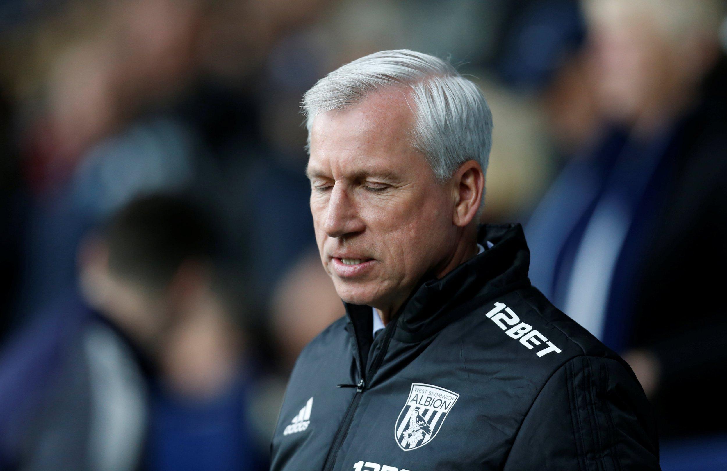 West Brom sack Alan Pardew with Baggies facing Premier League relegation