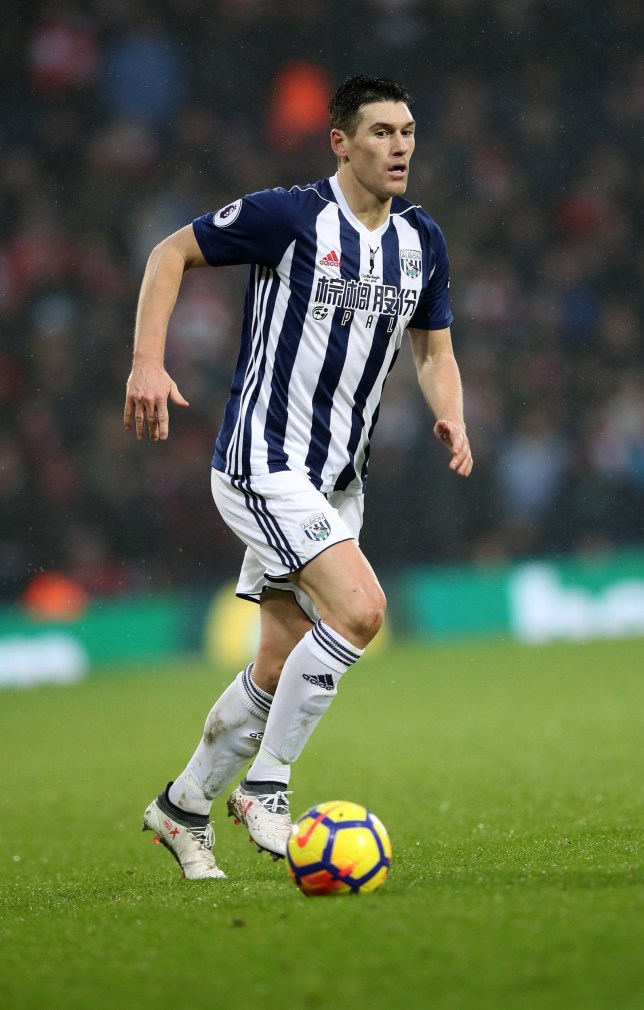 WEST BROMWICH, ENGLAND - FEBRUARY 03: Gareth Barry of West Bromwich Albion during the Premier League match between West Bromwich Albion and Southampton at The Hawthorns on February 3, 2018 in West Bromwich, England. (Photo by Lynne Cameron/Getty Images)