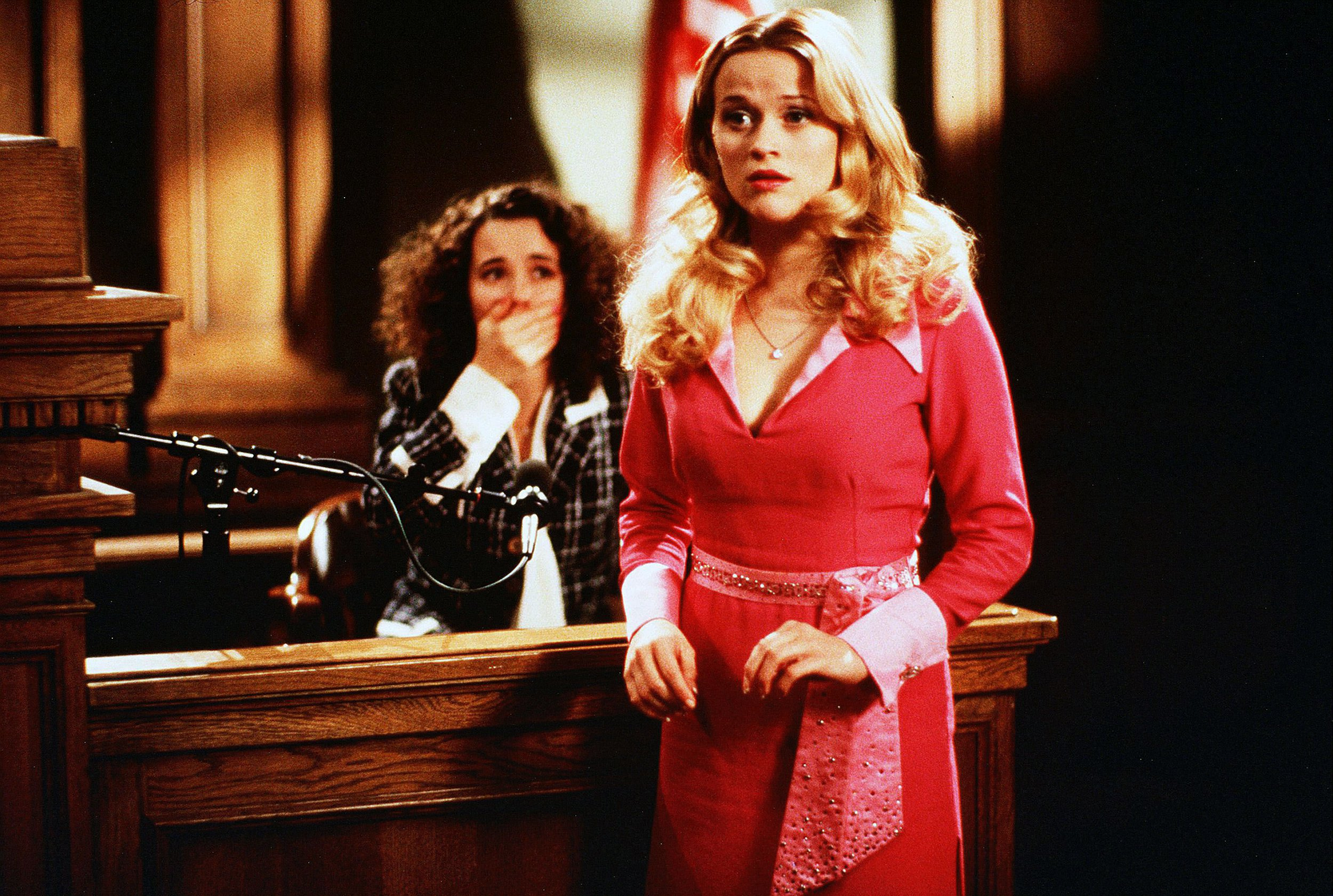 No Merchandising. Editorial Use Only. No Book Cover Usage. Mandatory Credit: Photo by Tracy Bennett/MGM/Kobal/REX/Shutterstock (5883215i) Reese Witherspoon Legally Blonde - 2001 Director: Robert Luketic MGM USA Comedy La Revanche d'une blonde