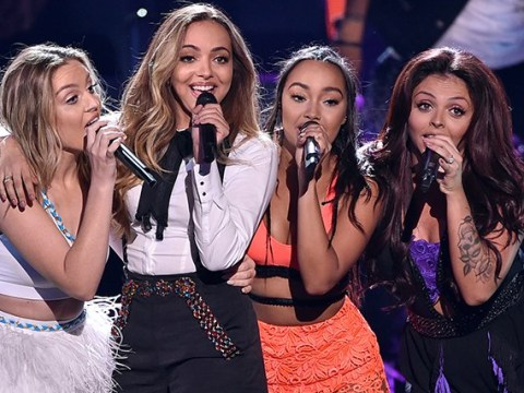 Little Mix slay while surrounded by flowers in stunning new photos from Japanese tour