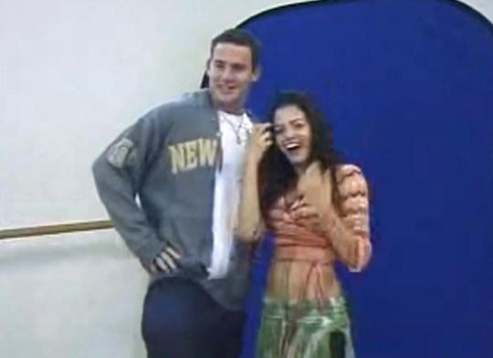 Jenna and Channing's flirtatious audition tape picture:Jenna Dewan Tatum METROGRAB YouTube