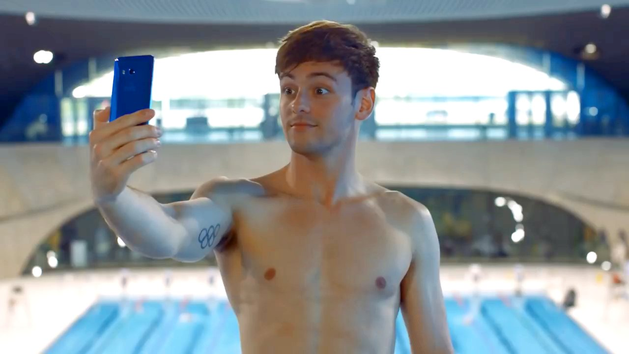 Tom Daley's HTC ad banned for implying phone could be used in pools