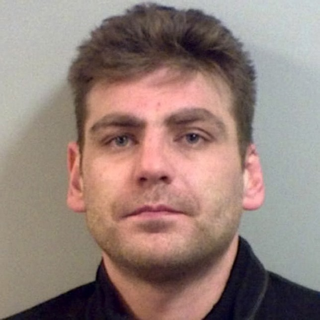 """Enterprise News and Pictures 5/4/18 Pic shows: Henry Vincent, 38, who has been identified as the burglar who was stabbed to death by Richard Osborn-Brooks, 78, the elderly homeowner who was being questioned by police on suspicion of murder. Mr Osborn-Brooks was forced into his kitchen by one of two men who broke into his home armed with a screwdriver. Police said that while the other suspected home invader was upstairs, a scuffle broke out between Mr Osborn-Brooks and burglar Henry Vincent in the kitchen. During the struggle, the 38-year-old intruder was stabbed in the upper body at the house in Hither Green, south east London. Vincent was taken to hospital but died at 3.37am. Mr Osborn-Brooks, who has been arrested and bailed over the killing, is believed to care for his wife who has dementia or is disabled and a neighbour has described him as """" a lovely old man."""" Vincent was being hunted by police when he died for another raid on a pensioner's home in Farningham, Kent. Police appealed in January to trace Vincent (releasing this picture) and another man, Bill Jeeves, over the theft in November last year. On that occasion a victim in his 70s had a jewellery box containing valuables taken after being duped in a distraction burglary by a woman who appeared at the door in tears claiming she had been assaulted. She left swiping the box of jewellery when Vincent and Jeeves' stolen Ford Transit van later pulled up outside for her. See story..."""
