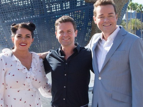 Stephen Mulhern caught standing next to seriously 'rude' sign during Saturday Night Takeaway final