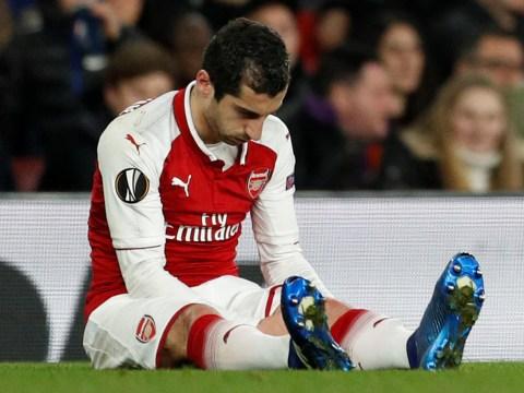 Arsene Wenger fears long-term injury to Arsenal midfielder Henrikh Mkhitaryan
