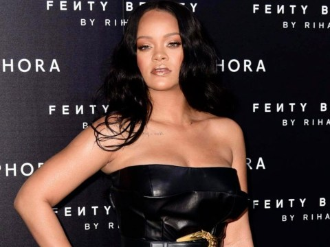 Man arrested after 'spending the night' in Rihanna's home