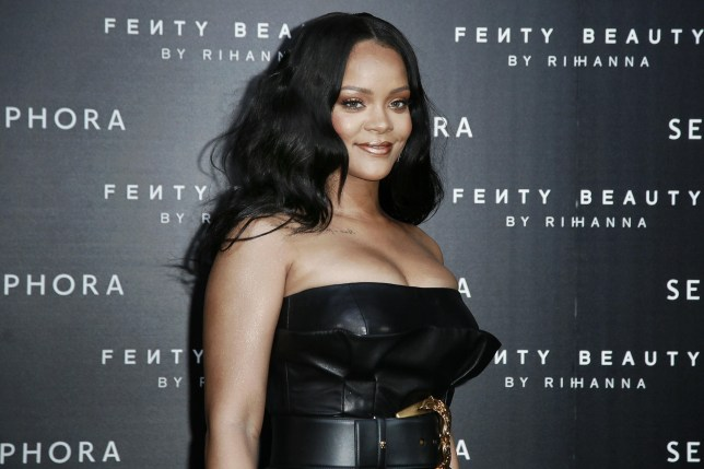 Rihanna attends the launch of her makeup line Fenty Beauty Featuring: Rihanna Where: Milan, Italy When: 05 Apr 2018 Credit: KIKA/WENN.com **Only available for publication in UK, Germany, Austria, Switzerland, USA**