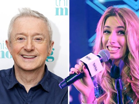Does Stacey Solomon think Louis Walsh should be replaced on The X Factor?