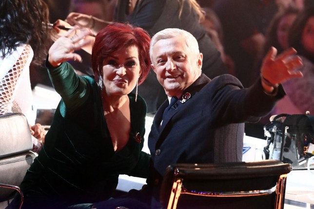 EDITORIAL USE ONLY - NO MERCHANDISING Mandatory Credit: Photo by Dymond/Thames/Syco/REX/Shutterstock (9188391es) Sharon Osbourne and Louis Walsh 'The X Factor' TV show, Series 14, Episode 20, UK - 05 Nov 2017