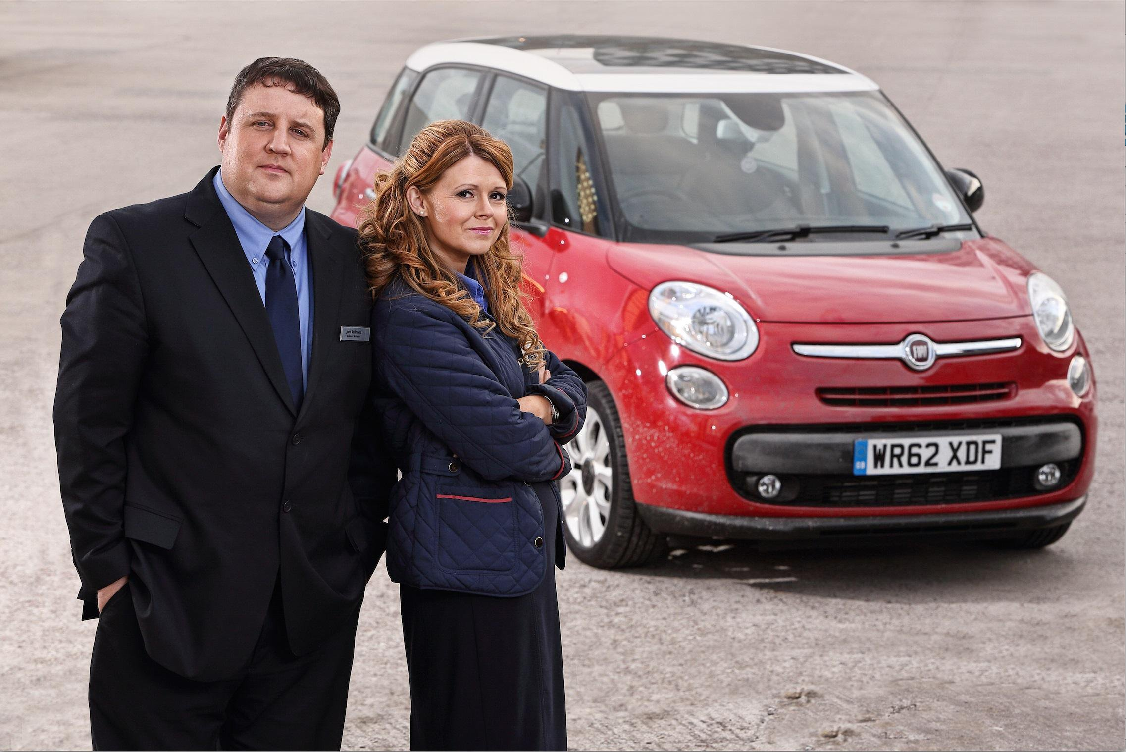 Live Peter Kay Picture: Peter Kay's Car Share Credit: BBC