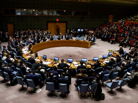 US calls UN vote on action against chemical attacks Syria