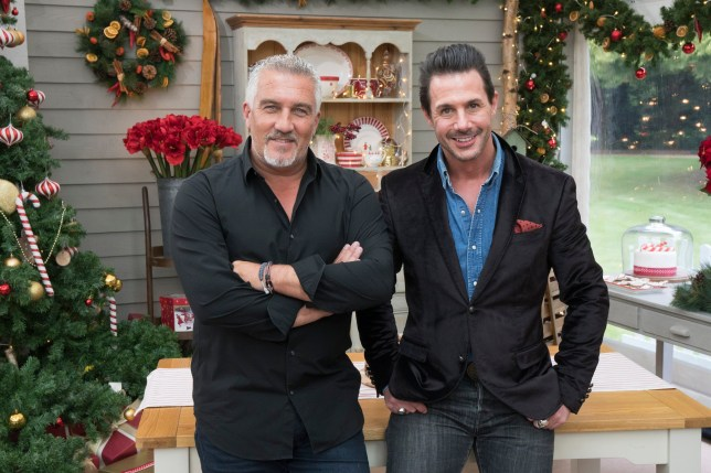 THE GREAT AMERICAN BAKING SHOW - Dessert and Cookie Week - On your marks, get set, bake!??As part of 25 Days of Christmas, The Great American Baking Show showcases desserts and cookies,??THURSDAY, DEC. 14 (9:00-11:00 p.m. EST), on The ABC Television. (Mark Bourdillion/ABC via Getty Images) PAUL HOLLYWOOD, JOHNNY IUZZINI