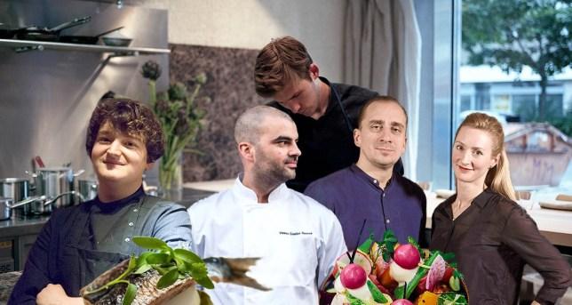 Best new chefs